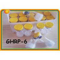 Buy cheap GHRP6 GHRP-6 99% purity Peptides Steroids for Weight Loss Polypetide Hormones 2mg / Vial 87616-84-0 product