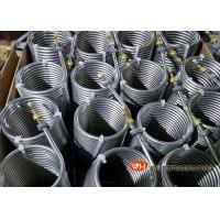 Buy cheap Spiral Grooved Stainless Steel Tube Heat Exchanger / Condenser High Effiency product