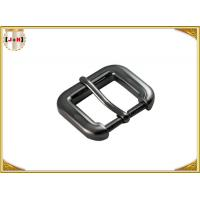 Buy cheap Gunmetal Cinch Metal Bag Buckle Hardware , Zinc Alloy Handbag Metal Fittings product