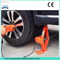 Buy cheap 3 tons electric lift jack and impact torque wrench with 12-45cm lifting height from wholesalers