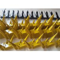 China Anti Climb Security Spikes For Walls And Fences Powder Coated Hot Dipped on sale
