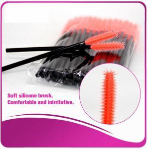 Buy cheap Multi -Top Silicone Mascara Applicator Brushes , Fashionable Eyelash Extension Brush from wholesalers