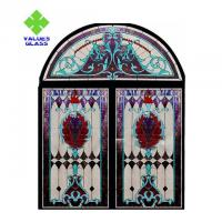 Buy cheap Church Stained Glass Decorative Panels 780x962mm Regular Size CE Certificated product