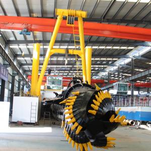 Buy cheap Cutter Dredger River Sea Machine Mining Machinery Mini Dredge for Gold Vessel Sand Suction Ship product