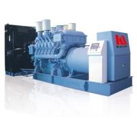 Buy cheap Eco Friendly Diesel Engine Generator 250 - 3000 KVA MTU Engine Long Serving Life product