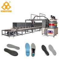 40 Stations Rotary Type PU Pouring Machine For Safety Shoes / PLC Control System for sale