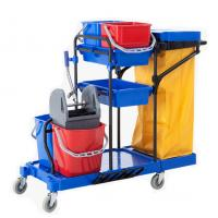 Quality China Customize multifunctional high quality plastic push medical cart for sale