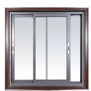 Buy cheap Customized Sliding Windows Door System Double Glass Hurricane Impact Aluminium Sliding Window door product