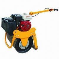 Buy cheap Soil Roller Compactor with 1.5L/H Fuel Consumption and 10N Vibrating Force product