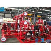 Buy cheap Skid Mounted Firefighting System Fire Pump Set 400GPM / 135PSI NFPA20 Standard product