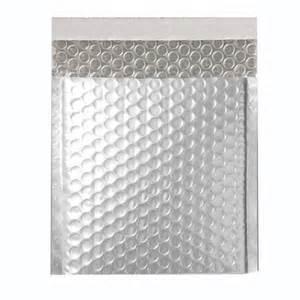 Buy cheap Jiffy metallic air bubble silver mailing bag, self seal bubble envelopes product
