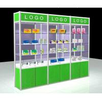 Buy cheap Aluminum Alloy Pharmacy Display Shelves For Medical Store Fixture Easy Install  product