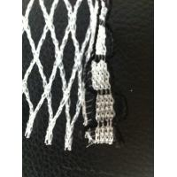 Buy cheap Custom White Knitted Knotless Net , Ornament Monofilament Netting product