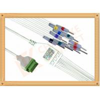 Buy cheap GE Marquette Ecg Monitor ecg lead cable One Piece Needle AHA product