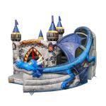 Buy cheap Super Print 0.55mm PVC Tarpaulin Inflatable Dragon Castle For kindergarten product