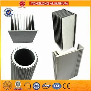 Buy cheap Sound Insulation Aluminum Heatsink Extrusion Profiles Better Stiffness product