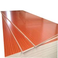 Buy cheap Compact Struture Melamine Faced MDF Board 730kg/M³ Density With Mixed Core product