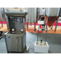 50Hz SUS304 Automatic Glass Bottle Filling Machine For Beer / Beverage