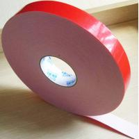 Buy cheap Two sided adhesive tape coated strong acrylic glue with PE foam backing material product