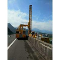 Buy cheap 4 Axles Platform 22m Under Bridge Inspection Vehicle Euro III / IV FAW Chassis product