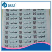 Buy cheap PP / PET QR Code Stickers , QR Code Labels For Drug / Cosmetic / Stationery product