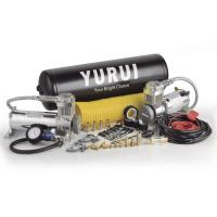 Buy cheap Dual Steel Onboard Air Systems Compressor For Trucks , 12v Compressor With Tank product