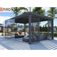Buy cheap Metal Louver Electric Modern Aluminum Pergola For Residential product
