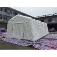 Buy cheap PVC Air Tight White Inflatable Emergency Tent , Hospital Inflatable Army Medical Tent product