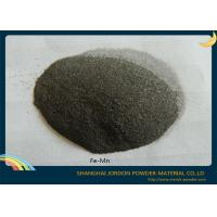 Buy cheap Alloying Element Additive Fe Mn Metal Powder Metallurgy 120 Micron ISO Approval product
