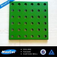 Buy cheap Perforated Metal Facades of Tile Ceiling product