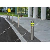 Buy cheap Powder Coated Fixed Post 316 Stainless Steel Retractable Belt Barriers product