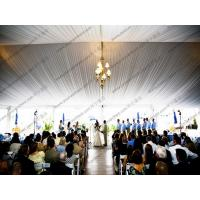 Elegant PVC Wedding Event Tents Transparent Cover Lining And Curtain Decoration