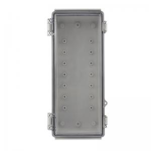 Buy cheap Latch Hinged Electrical Enclosure IP65 With Key Lock 260x110x75mm product