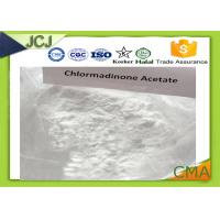 Quality CMA Chlormadinone Acetate Progesterone CAS 302-22-7 for Emergency Contraception for sale