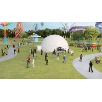 Buy cheap Big Profit Business 14 People 5D Cinema Dome Projection Built On The Playground product