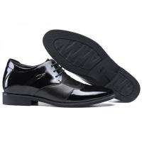 Quality Men Elevator Shoes Genuine Leather Party Formal Dress Shoes Black Taller 2.36 inches for sale