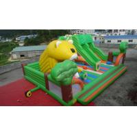 Buy cheap 2014 hot sell commercial grade inflatable trampoline for soft land amusement park product