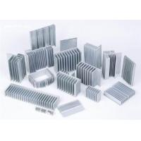 Quality Sliver Anodized Industrial Aluminium Profiles , High Power Extruded Aluminum for sale