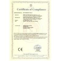 Shanghai ASWED Machinery Co., Ltd. Certifications
