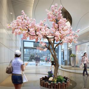 Buy cheap 3m Fake Japanese Style Cherry Blossom Tree Sakura Flower Garden Decoration product