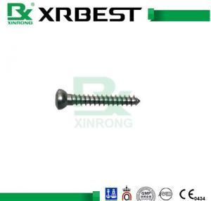 China HB4.0 Thread Locking Cancellous Bone Screws For Titanium Bone Plates ISO9001 wholesale