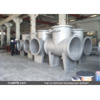 Buy cheap Flange connection T filter High quality industrial T type filter product