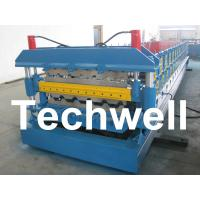 Buy cheap Automatic PLC Control Dual Level Roll Forming Machine With Manual / Automatic Decoiler product
