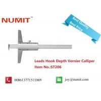 Buy cheap Leads Hook Depth Vernier Caliper Measuring Tool for Industrial Use product