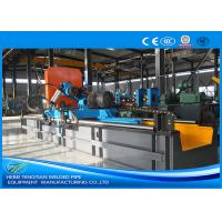 Buy cheap Carbon Steel Pipe Precision Cut Off Machine Blue Color With 2.5mm Pipe Thickness product