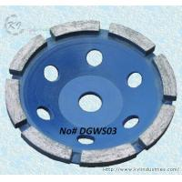 Buy cheap Single Row Diamond Cup Grinding Wheel for Concrete and Granite - DGWS03 product