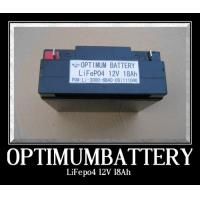 Buy cheap 12v 18ah Lithium Car Battery Rechargable Tricycle Lifepo4 Cell product
