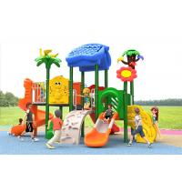 Buy cheap Reliable Kids Outdoor Plastic Slide , Kids Plastic Playset For 4-16 Years product