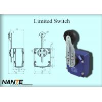 China Bigger Plastic Wheel Swing Arm Rotary Blue Limited Switch 1.155 Weight Used In Hoist wholesale