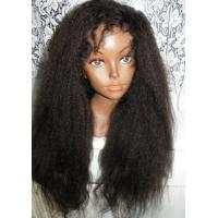 China 100% Real Brazilian Hair Lace Front Wigs , Virgin Front Lace Wigs For Black Women on sale